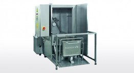 200l Euro Beschickungswagen - WA mit Mitteldrucktechnologie (bis zu 15 bar) Kapazität bis zu 40 Stk/h