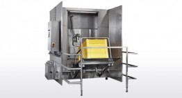 Container und Boxen WA mit Mitteldrucktechnologie (bis zu 15 bar) Kapazität bis zu 25 Stk/h (L x B x H: 1.200 x 800 x 800 mm)