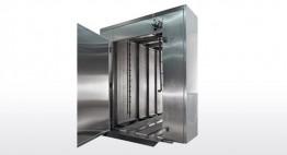 Rauch-, Bäcker- und Stikkenwagen WA Kapazität bis zu 15 Stk/h L x B x H: 1.000 x 1.000 x 2.000 mm