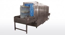 Integrierte Abblaszone Kapazität bis zu 150 Stk/h