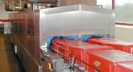 Mit Abblasung und autom. Abwasserentsorgung Kapazität bis zu 6.000 Stk/h