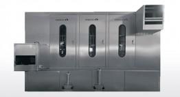 Kompakte Baugröße 2,6 x 1,95 x 2,65m Bis 1800/3600 Kisten/Stunde Flexible Aufstellmöglichkeiten